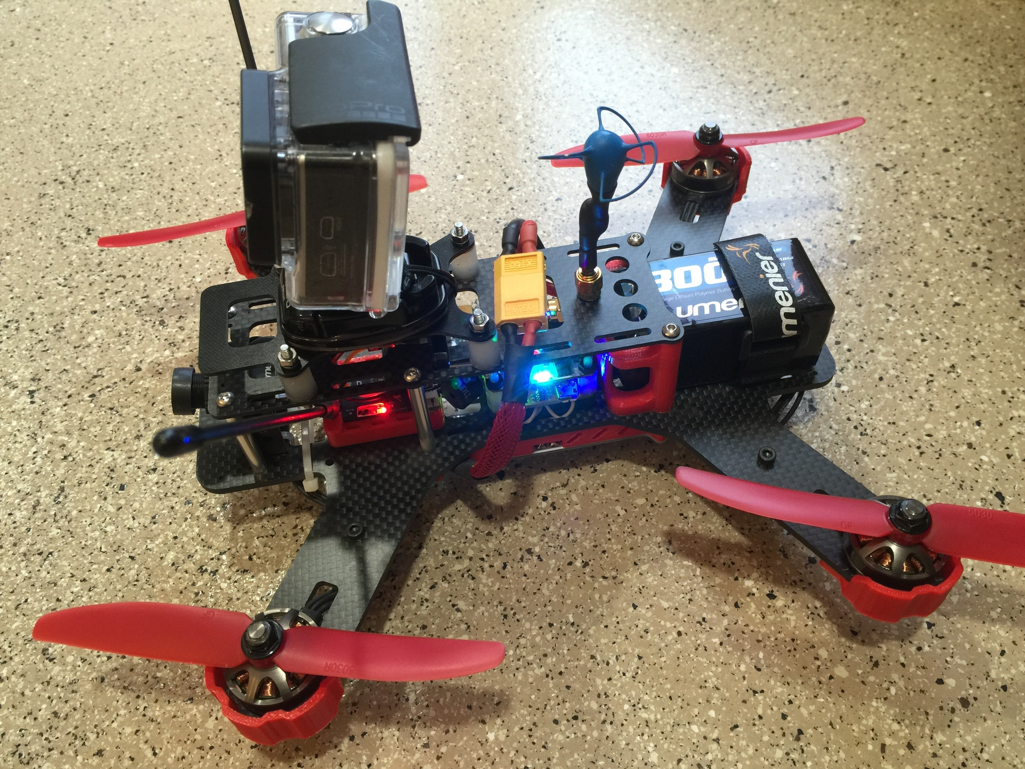 qav250 quadcopter built and repaired w ifixit tools. Black Bedroom Furniture Sets. Home Design Ideas
