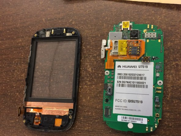 Huawei u7519 Screen Replacement