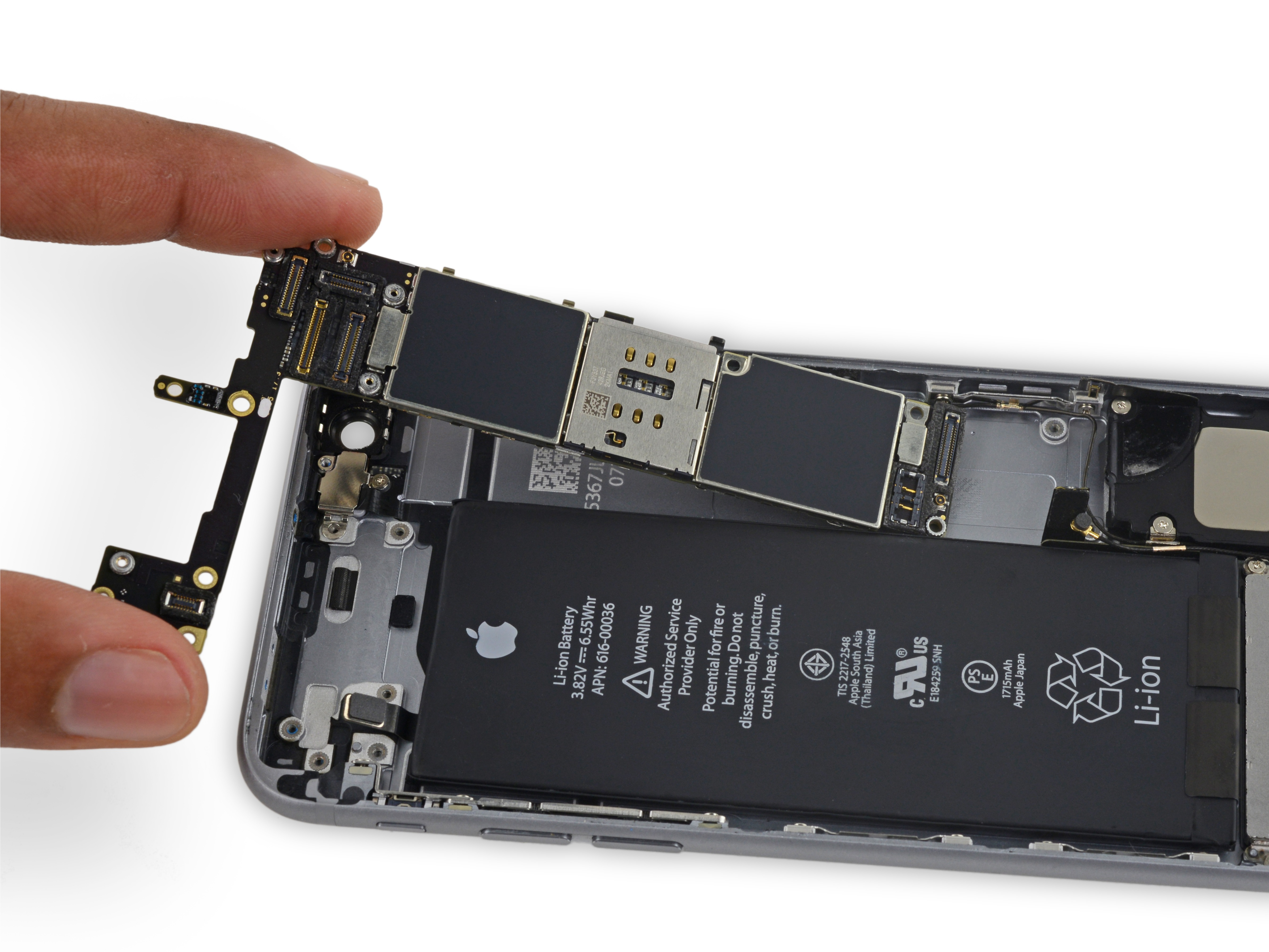 Iphone 6s Logic Board Replacement Ifixit Repair Guide Creative And Cool Ways To Reuse Old Circuit Boards 15 1
