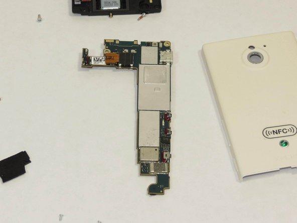 Sony Xperia Sola Camera Module Replacement