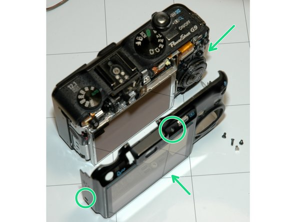 Be very careful not to touch any charged flash capacitor.