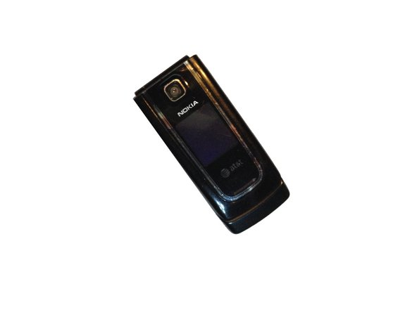 Flip phone around and push up on the battery door.