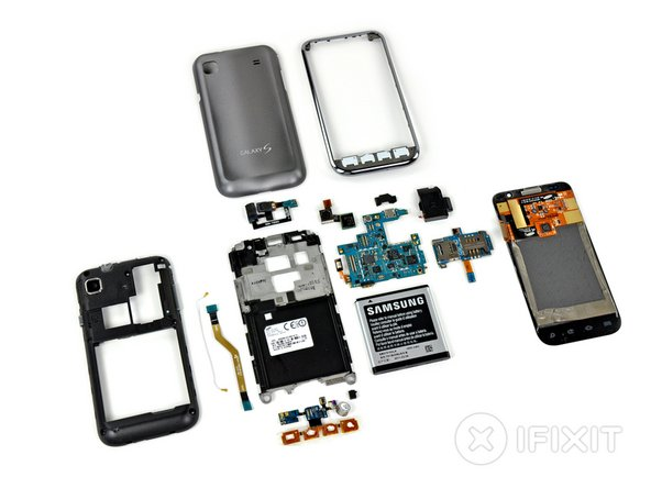 Samsung Galaxy S 4G teardown