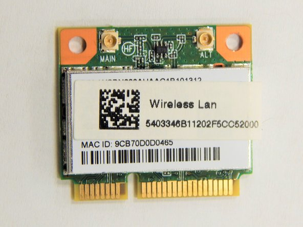 Acer Aspire S3-951-6432 Wi-Fi Card Replacement
