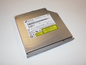 Removing Dell Inspiron 1150 Optical drive