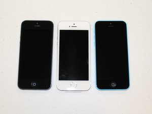 iPhone 5, 5S, and 5C SimultaneousTeardown