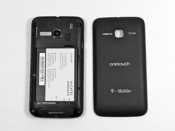 Alcatel OneTouch Evolve Back Panel Removal