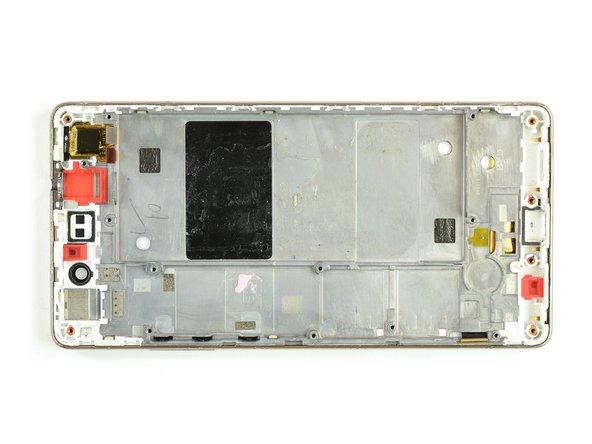 Substituição do display com armação do Huawei P8 Lite