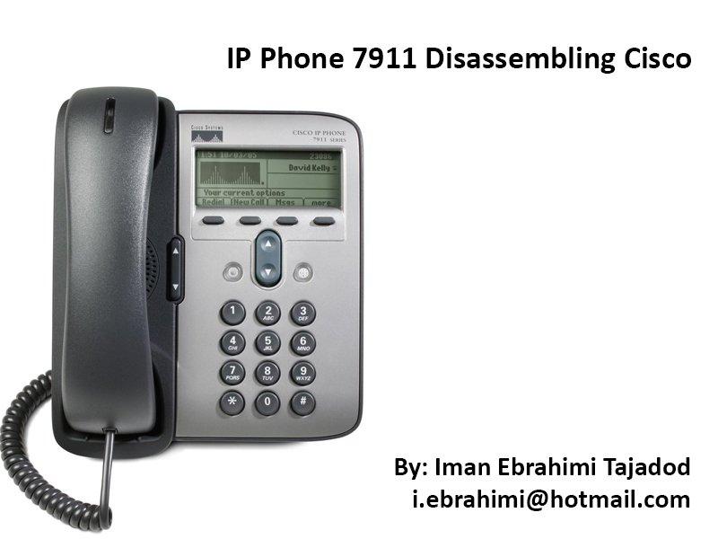 Cisco Unified IP Phone 7911G Teardown - iFixit