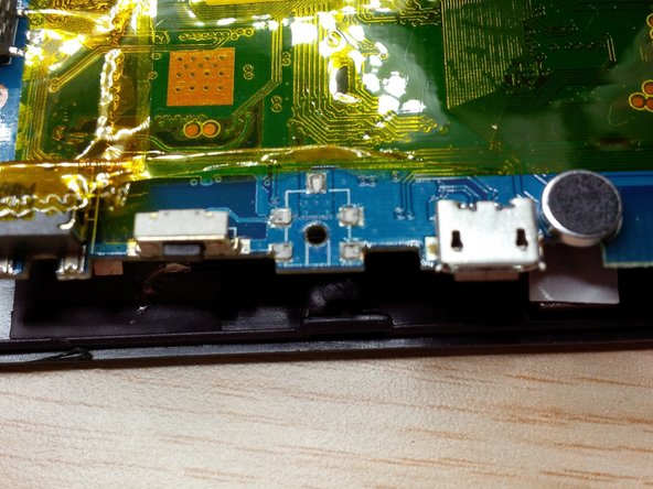 Image 1/2: we will solder the dc jack on the main board.