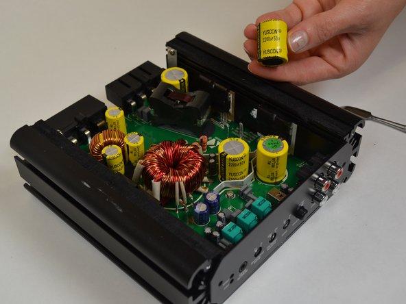 Kicker CXA300.1 Capacitor Replacement