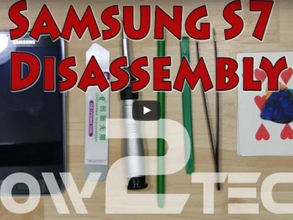 Samsung Galaxy S7 Edge Displayeinheit Austausch