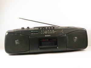 Sony CFS-204 Radio Cassette-Recorder