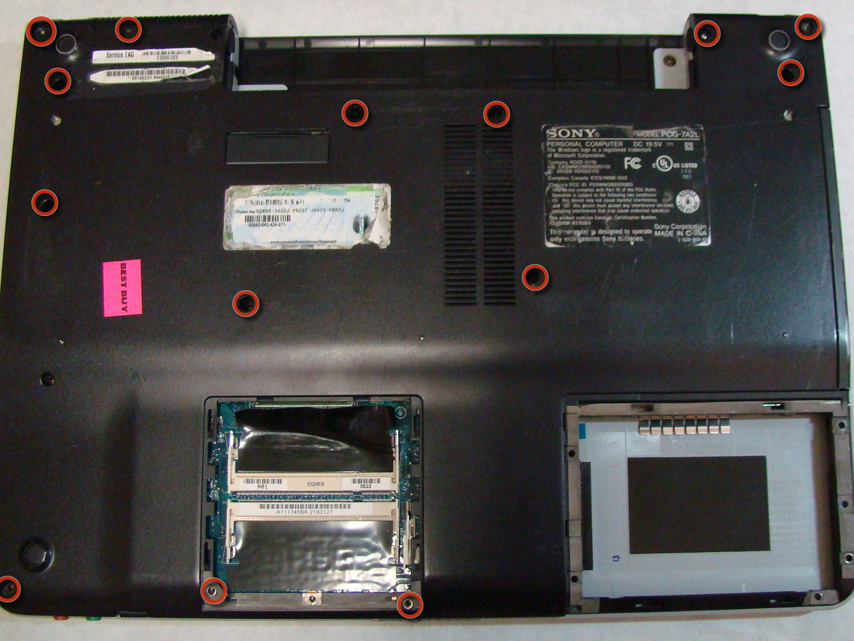 sony vaio pcg 7a2l repair ifixit rh ifixit com Sony Vaio PCG Drivers Sony Vaio Laptop Repair Manual