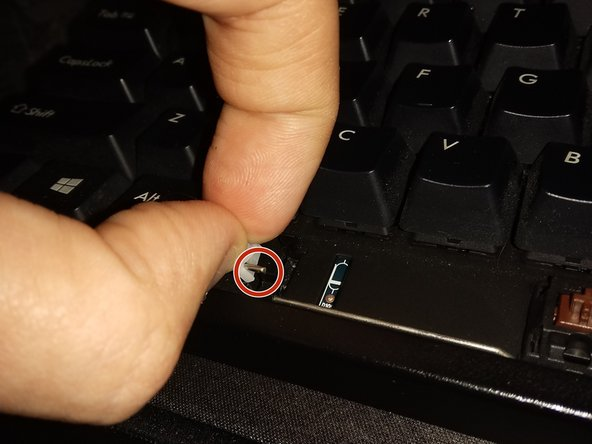 """Upright signifies that the """"+"""" is facing upward, this is important as the space bar has the same styled holes underneath."""