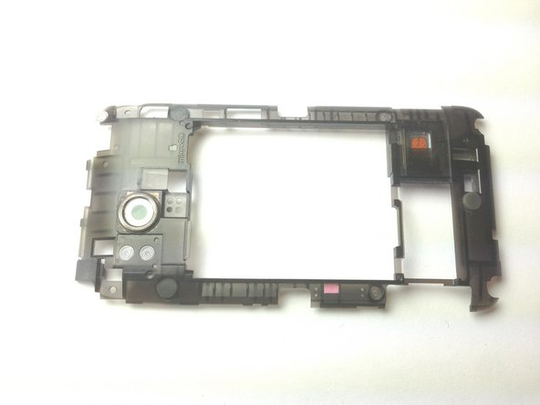 Remove the rear inner frame from the rest of the device.