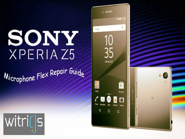 Sony Xperia Z5 Microphone Flex Replacement