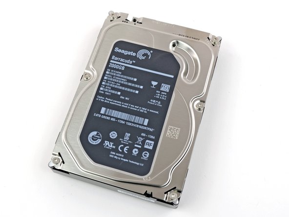 The drive is a standard, off-the-shelf Seagate Barracuda drive. We're cheapskates (hey, you never know when you might kill a $3,000 Retina MBP while trying to open it), so we opted for the 2TB option.