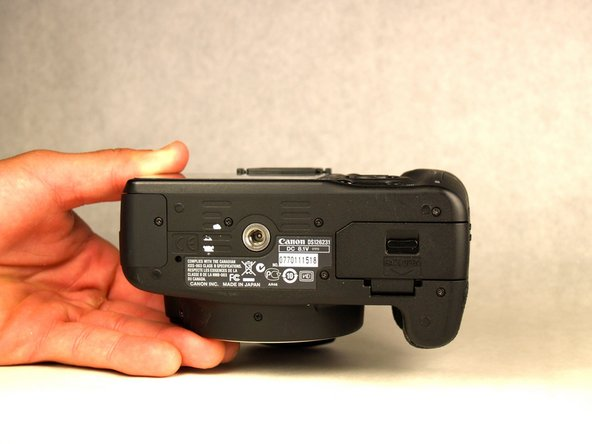 Canon EOS Rebel T1i Battery Replacement