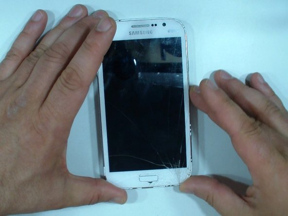 This is Samsung Galaxy Grand Neo Plus i9060i with broken screen.