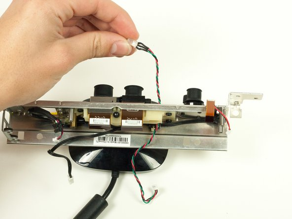 Gently pull the LED out of the front of the metal casing. It should slide out easily.