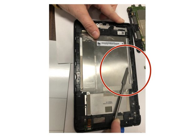 Verizon Ellipsis 8 Screen Replacement