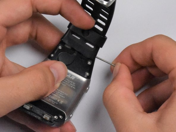 It isn't necessary to remove the watch band before replacing other parts of the watch, but it may make removal of other elements of the watch more accessible and clear.