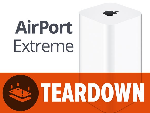 "We snapped up this 2013 rendition of the AirPort Extreme, which was announced at WWDC just one day prior to its release. Spoiler alert: it's TALL. The winner of this year's ""tallest wireless router that is white, roughly rectangular, and has an Apple logo on top"" award also boasts:"