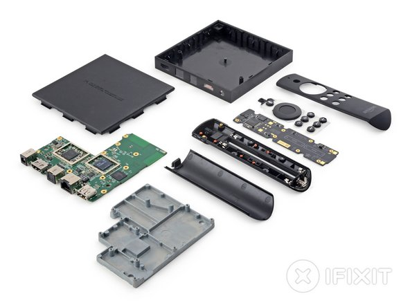Amazon Fire TV Repairability Score: 6 out of 10 (10 is easiest to repair)