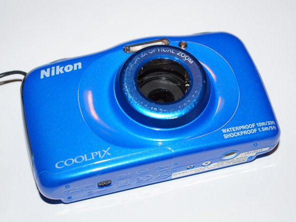 Nikon Coolpix S33 Front Cover Replacement