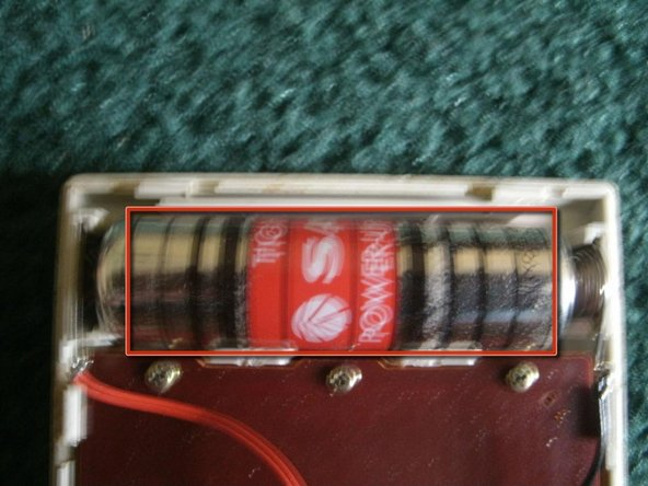 Sanyo Tight-Seal Power-Up Sum-3 1.5V AA battery.