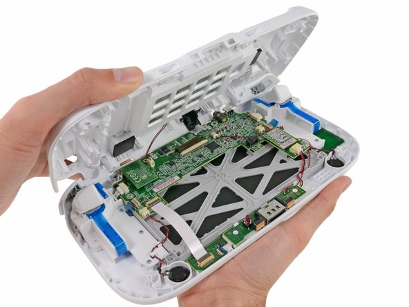 Image 1/1: We make the Wii U GamePad controller spill its guts.