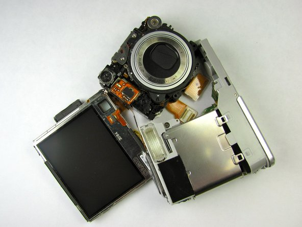 Casio Exilim EX Z55 Lens Replacement