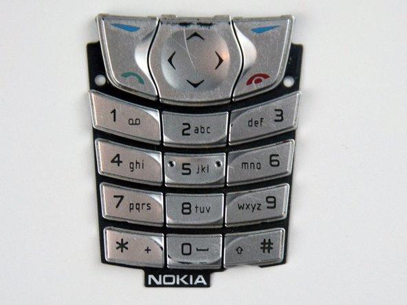 Remplacement ou nettoyage du clavier du Nokia 6560