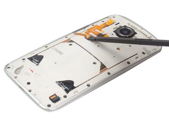 Get the flex loosen from battery