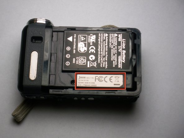 Image 1/1: Look on the battery for a model number to assure that you acquire the correct replacement part.