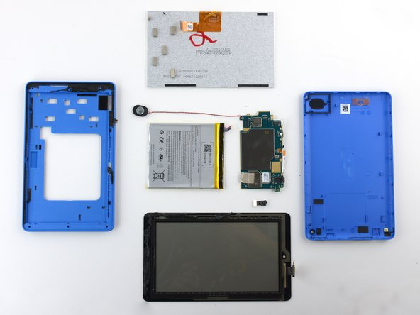 The Amazon Fire Tablet earns a 7 out of 10 on our repairability scale (10 is the easiest to repair):