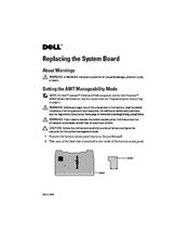 System Board repair guide