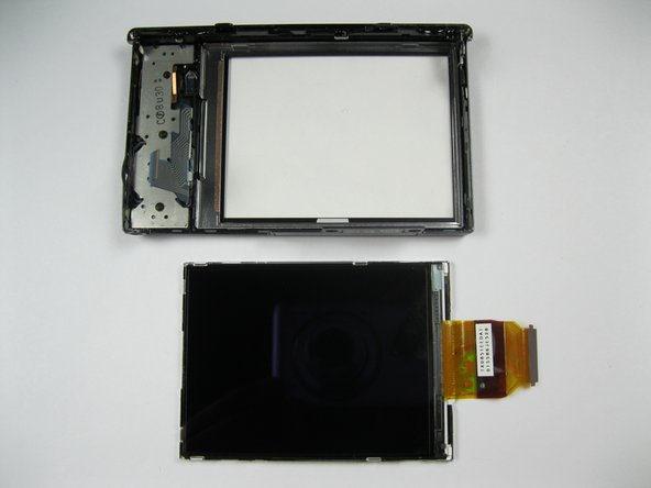 Pry the display from the rear casing using a spudger.