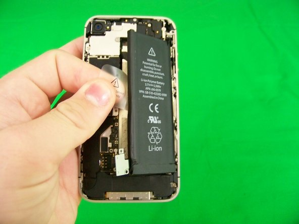 Disassembling iPhone 4S Battery