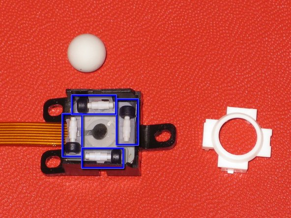 Image 1/1: Clean all parts in isopropyl alcohol, allow them to dry, and reassemble the device.