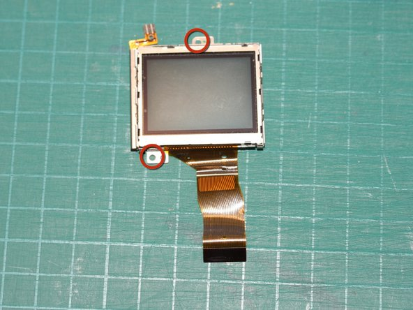 "Image 1/1: It's not visible in this particular photo, but the LCD display module is made by Sony - part number ""AM313EKA"""