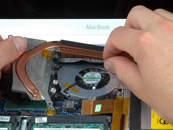 MacBook Core Duo Heat Sink Replacement