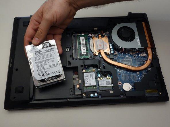 Retirer le HDD de son port SATA3.