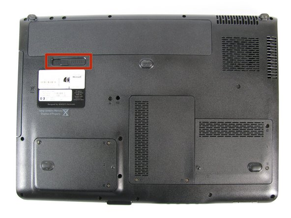 HP Pavilion dv9000 Battery Replacement