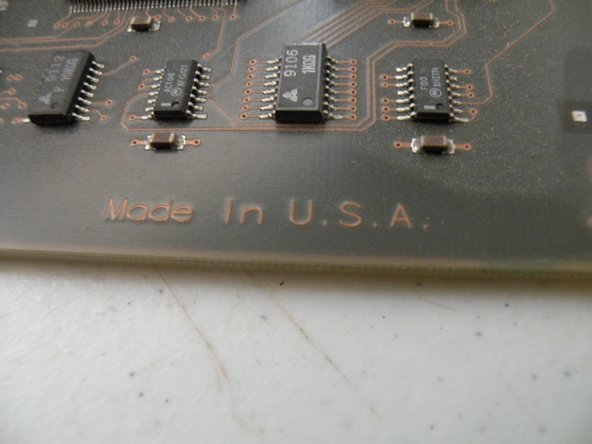 Made in the USA, you don't see this anymore.