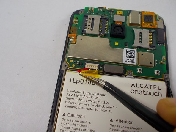Alcatel One Touch Fierce Battery Replacement