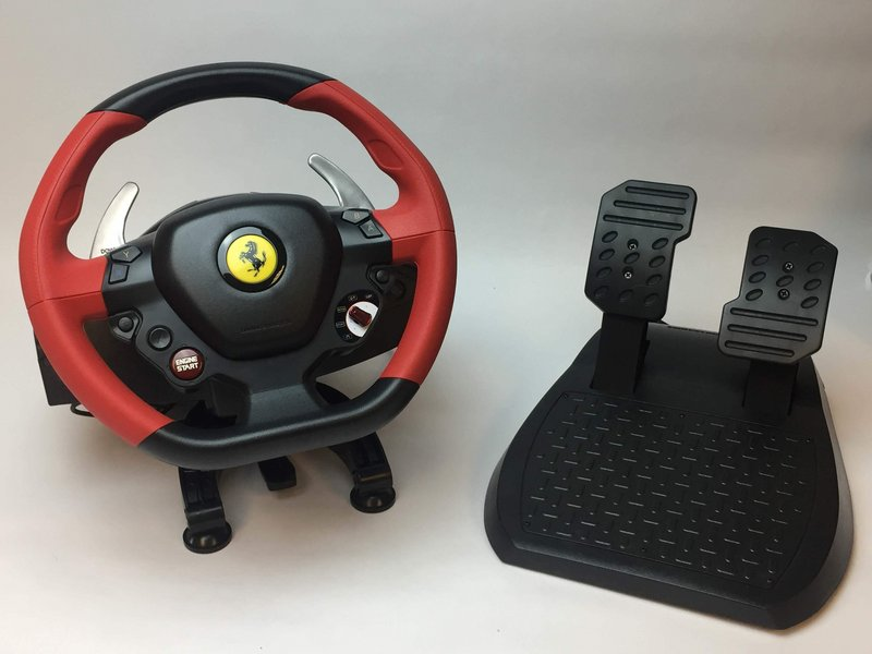 Thustmaster Ferrari 458 Spider Racing Wheel Troubleshooting