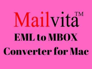 EML naar MBOX Converter voor Mac - breng het EML-bestand over naar MBOX