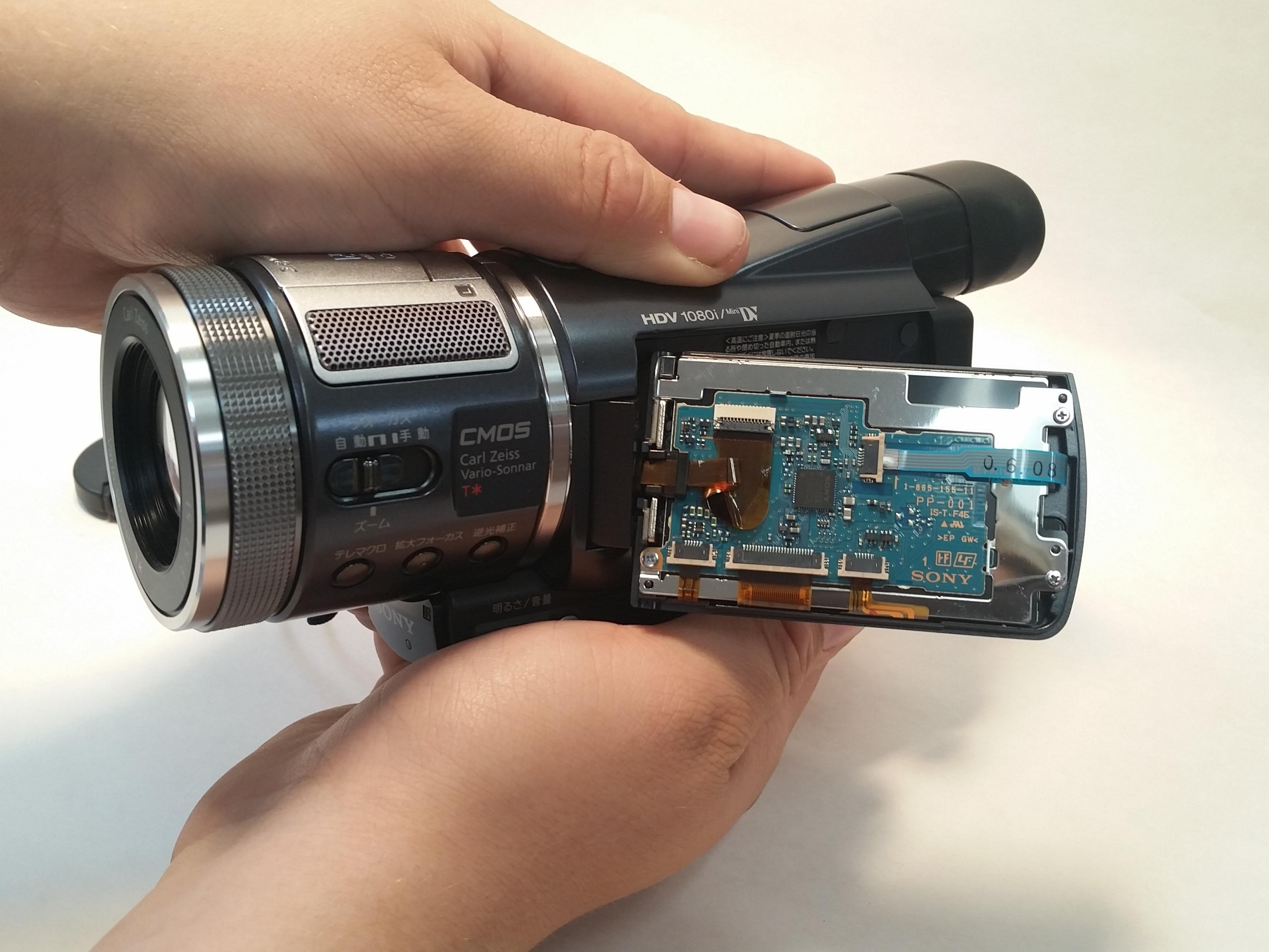 Sony Camcorder Repair Ifixit Hdr Pj810 Full Hd Handycam Lcd